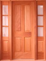 Puertas de madera macizas puertas de madera exterior for Puertas macizas exterior