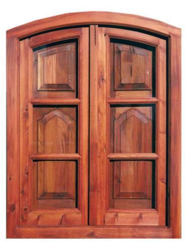 Ventanas de madera ventanas a medida for Fabrica de aberturas de madera