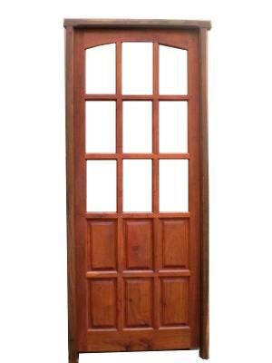 Puertas de madera puertas aberturas de madera for Puertas y portones de madera